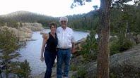 Biology teacher Tim Haislet and his wife, both Orono graduates, stop to enjoy the scenery of Lake Tahoe. Photo courtesy of Tim Haislet