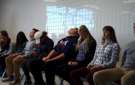 Hypnotist John-Ivan Palmer's Stage Show At Orono High School