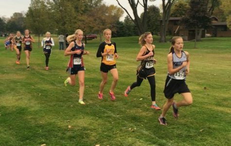 Cross Country Races to the Finish Line