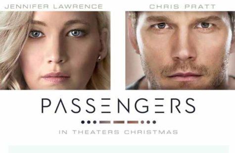 The futuristic movie Passengers directed by Morten Tyldum