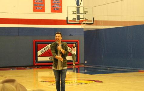 Speaker Inspires Students Toward Kindness