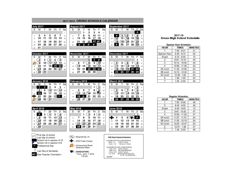 Sudden Schedule Shift Surprises Students