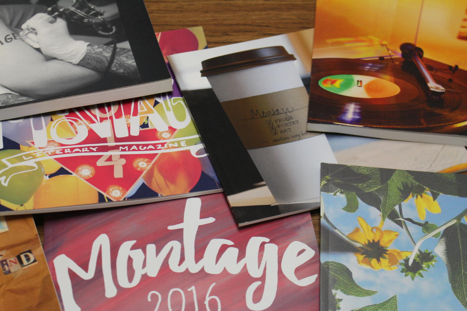 Montage publications through the years