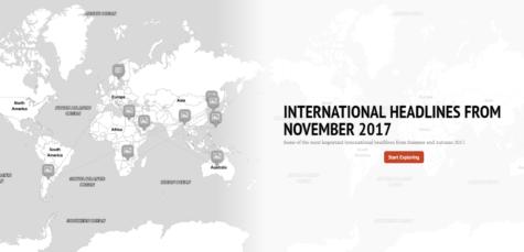 International News from November