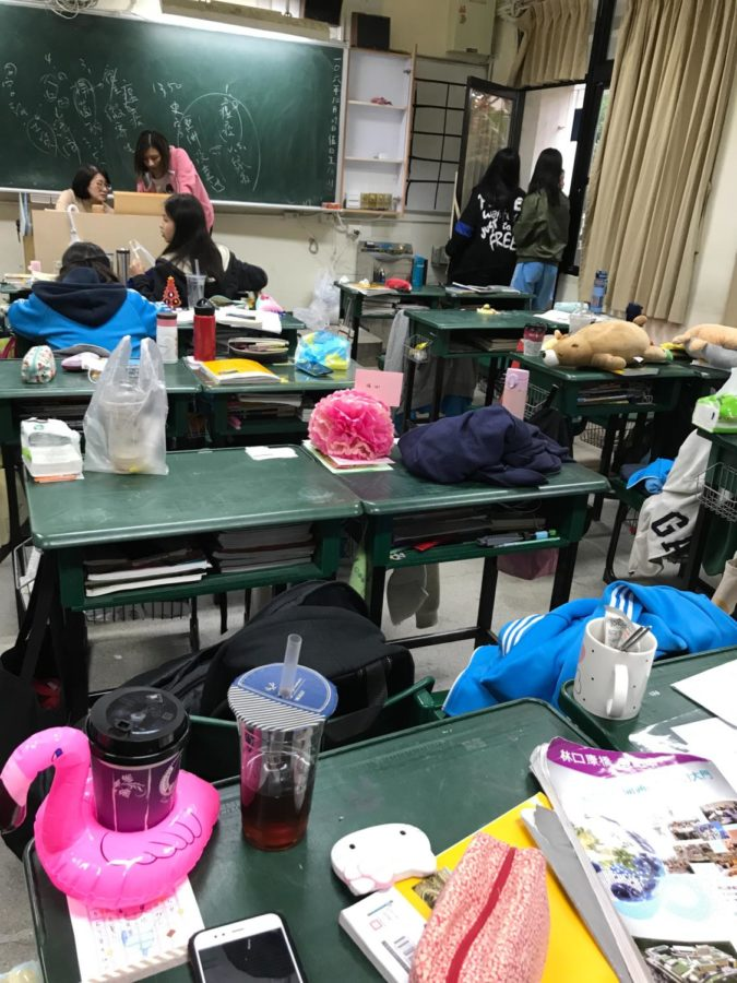 A day in the life of a Taiwanese student