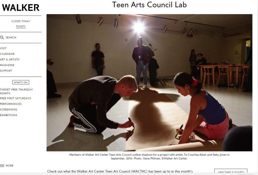 Seems art center for teen art think