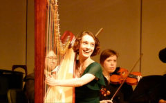 Driskill boasts award-winning harp talent