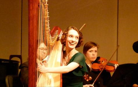 Driskill boasts award-winning harp talent