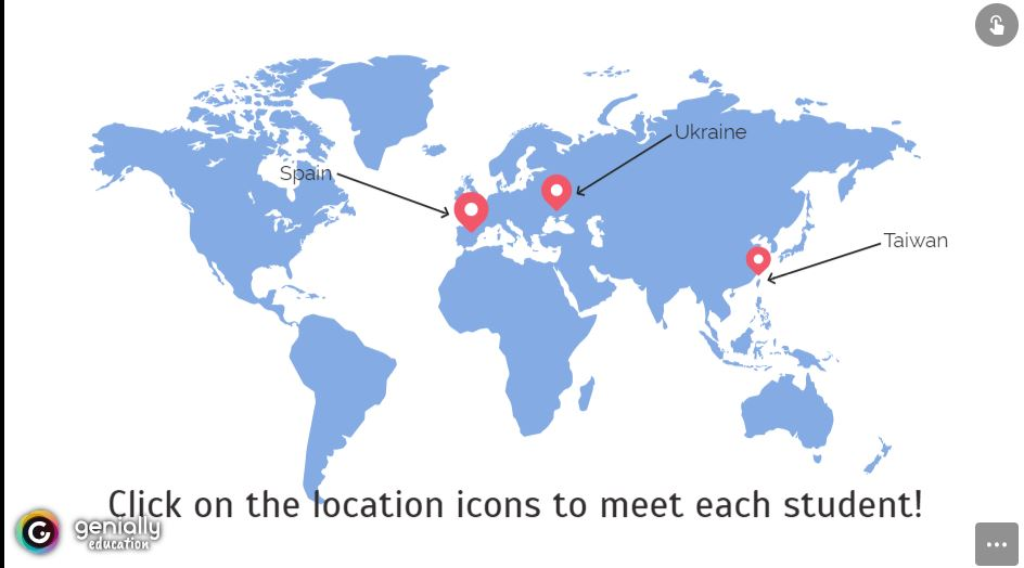 Click on this Interactive Map for more information on the three featured foreign exchange students.