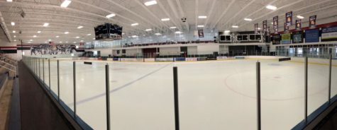 Panorama of rink renovations