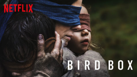 The movie poster for the film 'Bird Box'.