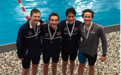 Boys swim head to state