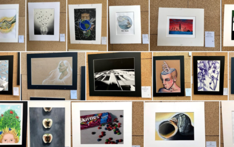 Students honored at the Congressional Art Competition