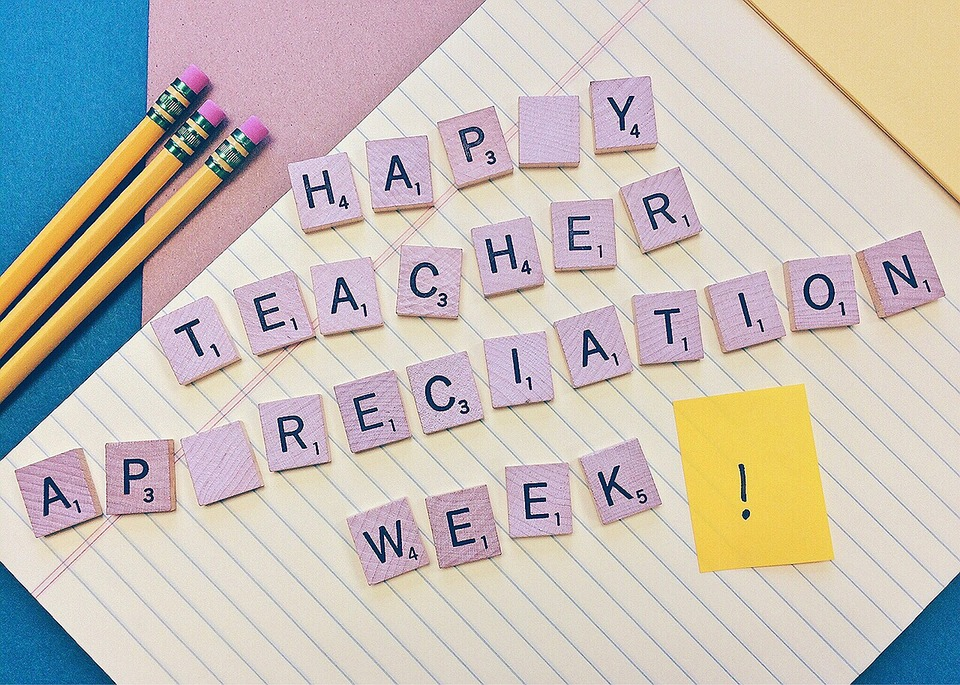 Teacher appreciation week gives students a chance to say thank you.
