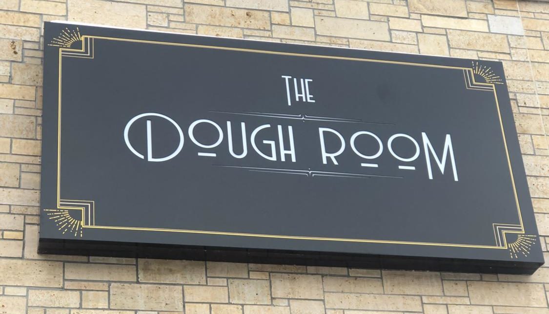 The entrance to the Dough Room looks welcoming, but the experience disappoints.