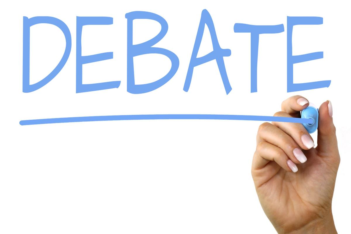 Orono's debate team switches their topic at the end of October.