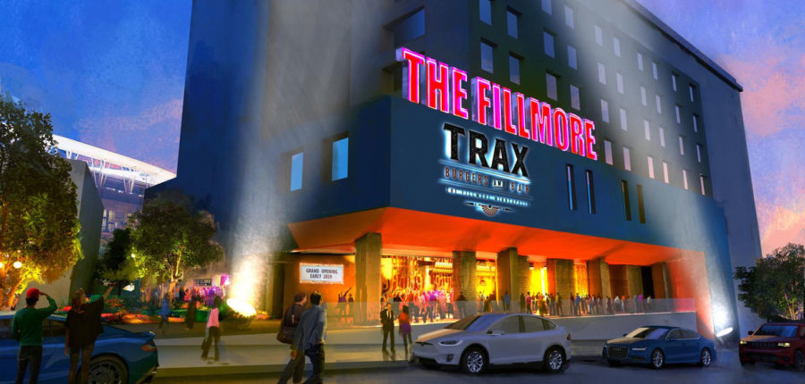 The projected view of the Fillmore venue in MSP. The new venue is expected in 2020.