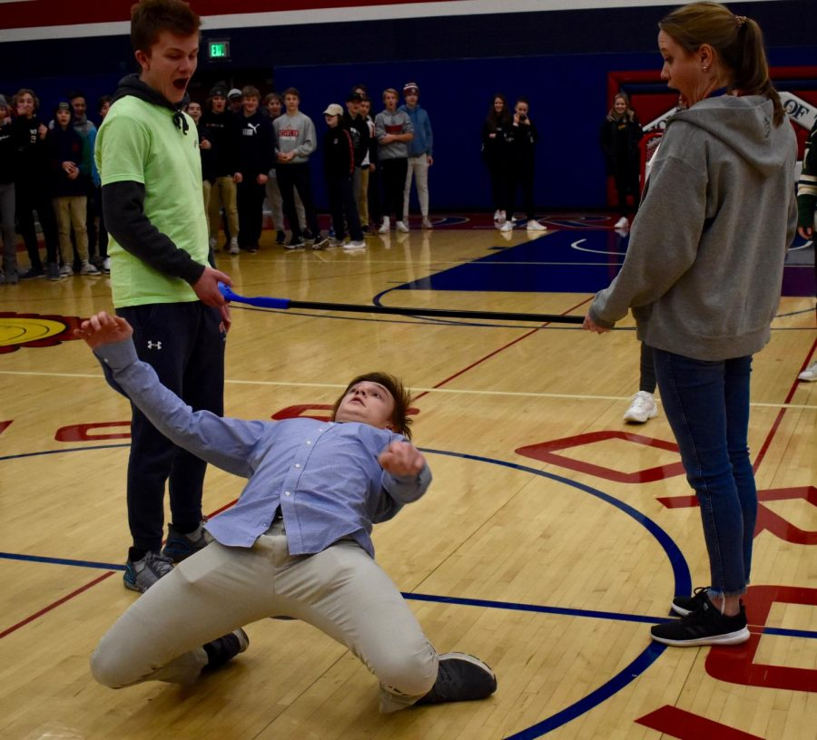 Class Competition ends in a tie between the junior and senior class