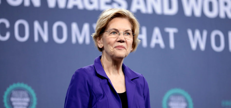 Elizabeth+Warren+is+one+of+the+runners+in+the+race+to+be+the+2020+Democratic+candidate.