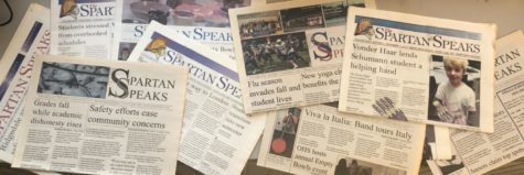 Old print editions of The Spartan Speaks and some are from many years ago.