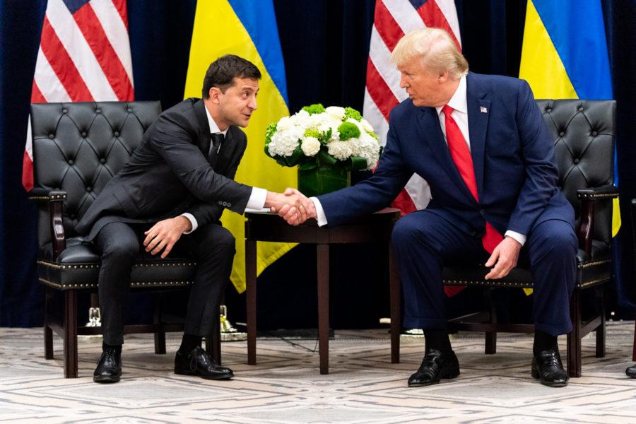 President+Donald+J.+Trump+in+a+meeting+with+Ukraine+President+Volodymyr+Zalensky+in+Sep.+in+New+York+City.