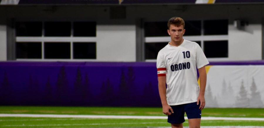 Reece Clifford's senior year marks his tenth year playing soccer.
