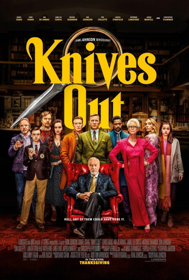 Knives+Out+was+released+on+Nov.+27%2C+2019+and+is+nominated+for+three+Golden+Globe+Awards.+