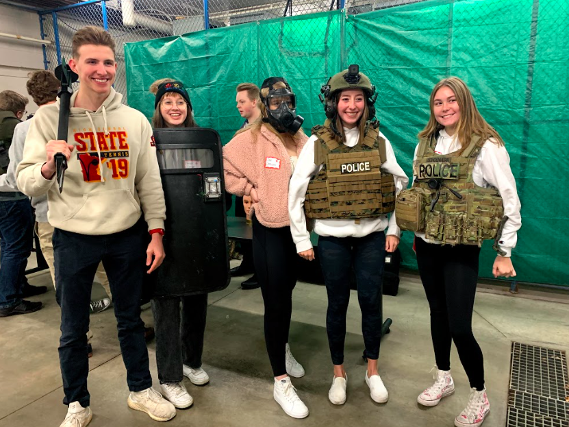 Forensics students get the inside scoop on Orono Police