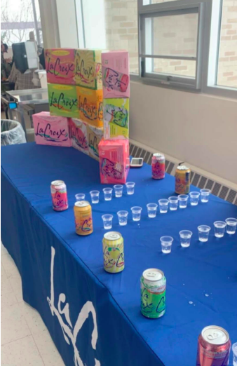 The lunchroom sampled La Croix during the lunch periods on Wednesday.