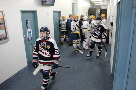 Orono Girls Hockey Section Finals vs. Breck