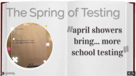 The Spring of Testing (ACT, AP exams, MCA)
