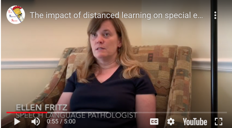 The impact of distanced learning on special education