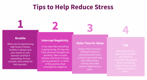 Use one or several of these tips to help manage the stress in your life!