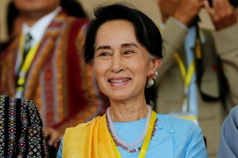 Photographed for the New Yorker, Suu Kyi smiles for the camera oblivious of what is to come.