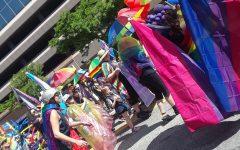 Families come together in a pre-COVID Pride, Salt Lake City, 2019.