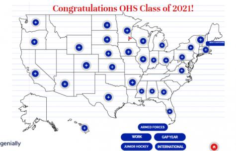 Orono High School Seniors Future Plans