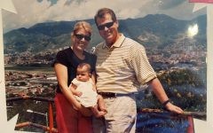 American parents go and pick up their daughter in Medellin, Colombia.